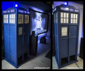 diy infrasonic subwoofer tapped horn tardis dr who